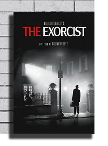 B-195 New The Exorcist Classic Movie Horror Poster Art Fabric 40 24x36