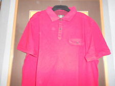 Timberland Men's Red Polo Shirt S/s 100 Cotton XXL Genuine Vintage LOOK