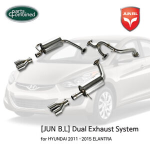 Exhaust System for HYUNDAI 2011 - 2016 ELANTRA 1.8L & 2.0L  [JUN B.L]