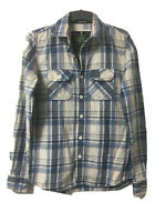 Superdry Mens Plaid Cotton Long Sleeve Shirt M(D88)