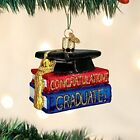 Old World Christmas Ornaments: Congrats Graduate Glass Blown Ornaments for Chris