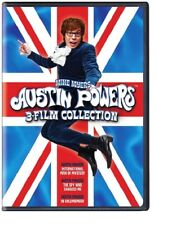 Austin Powers 3 Film Collection Goldmember Mystery Shagged Me Region 1 DVD New