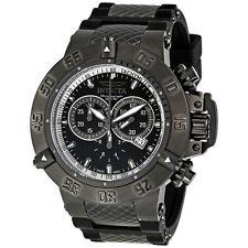 Invicta 5508 Noma III Subaqua Sport Black Ion-Plated Diver 500M Chronograph