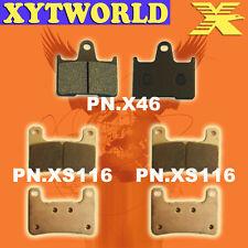 FRONT REAR Brake Pads for Suzuki GSXR 750 2004-2005