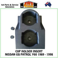 Cup Holder Insert suits Nissan GQ Patrol