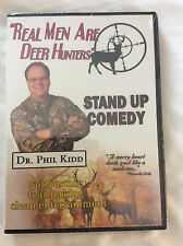 Real Men Are Deer Hunters  Clean Comedy by Dr. Phil Kidd DVD