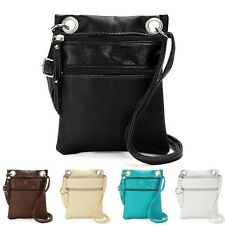 New Women Leather Handbag Satchel Cross Body Shoulder Bag Ladies Messenger