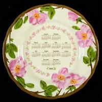 Franciscan DESERT ROSE 2002 Calendar Plate 3451343