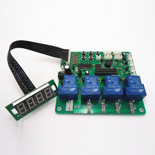 New JY-21 4 digits coin operated timer board Control up to 4 kinds of devices