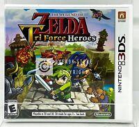 Legend of Zelda: Tri Force Heroes - Nintendo 3DS - Brand New | Factory Sealed