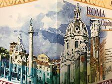 2008 Folder Roma Capitale Poste Italiane Filatelia Comune di Roma Italy Italien