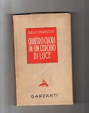 delio mariotti - quattro cuori in un cerchio di luce -  1942