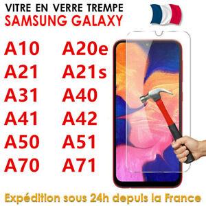 Verre Trempé Samsung Galaxy A20e A21s A31 A42 A51 A71 Vitre Protection d'écran