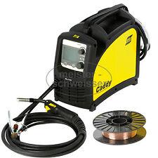 ESAB MIG/MAG Schutzgas Schweißgerät Caddy C200i Inverter für Fülldraht Alu CuSi