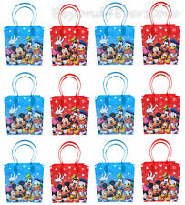 12PC Disney Mickey Mouse Club House Birthday Party Favors Goody Bag Gift Bags