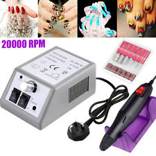 20000rpm Pro Electric Nail Drill Machine Pedicure Manicure Kits File Drill Bits