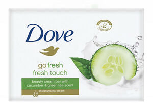 Dove Go Fresh Touch Beauty Cream Bar With Cucumber & Green Tea Scent Soap 100gr
