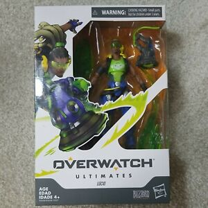 """Hasbro Overwatch Ultimates Series Lucio 6"""" Collectible Action Figure New Sealed"""