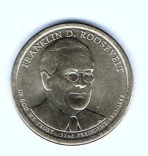 2014-D $1 Brilliant Uncirculated 32ND President Roosevelt Dollar Coin!