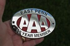 Original 1950 's- 1960s Vintage AAA East Penn auto emblem nos badge Ford gm