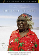 New DVD** LORE OF LOVE, THE  [from the CAAMA Collection]