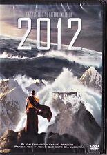 2012 de Roland Emmerich. Tarifa plana en envío dvd España, 5 €