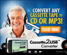 Convert Your Old Cassettes To Dvd or Mp3