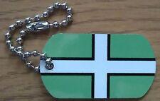 Devon County Flag Tag - Trackable For Geocaching (Travel Bug Geocoin)
