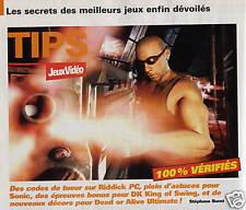 JEUX VIDEO....SOLUTIONS..ASTUCES....COUPURES DE PRESSE