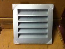 350 x 350mm External Weather Louvre, Ventilation Wall Grille
