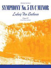 Beethoven Symphony No. 5 C Minor Sheet Music Piano Solo New 000510310