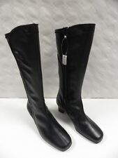Bottes OMBELLE Jonno noir FEMME taille 40 bottines boots woman cuir leather NEUF
