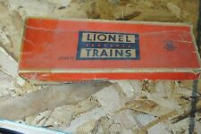 Lionel 2046W P.R.R. Tender With Whistle Box Only