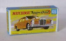 Repro Box Matchbox Superfast Nr.46 Mercedes 300 SE