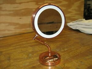 Conair Rose 1x/5x Lighted Vanity Mirror in Gold