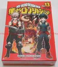 New Boku no My Hero Academia Vol.13 Limited Edition Manga DVD Booklet Card Japan