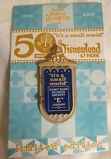 It's A Small World 50th Anniv MARY BLAIR Pin AP Passholder LE 2000 Disneyland