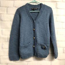 Manos Del Uruguay Womens Handmade Wool Alpaca Cardigan Sweater  Sw1