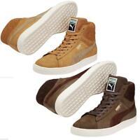 New Puma Basket Suede Classic Mens Hi Top Sports Casual Trainer Shoes rrp £75