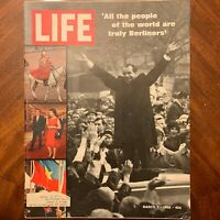LIFE Magazine ~ March 7 1969 ~ The Longest Dive ~ Fantasy Fashions ~ Ads (3)