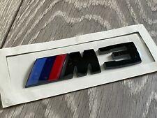 BMW M3 F80 Gloss Black Rear Boot Trunk Badge Emblem