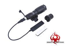 Night Evolution M300A LED Scout Light Tactical LED Flashlight - Black NE-04001