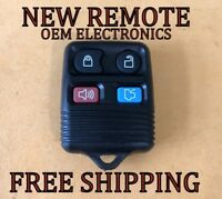 NEW W/ OEM ELECTRONICS FORD LINCOLN MERCURY KEYLESS ENTRY REMOTE FOB TRANSMITTER