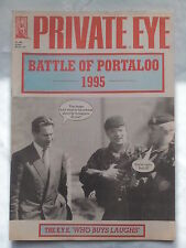 PRIVATE EYE.THE BATTLE OF PORTALOO.NO 883.20 OCT 1995,JOHN MAJOR DIARY.CAMELOT