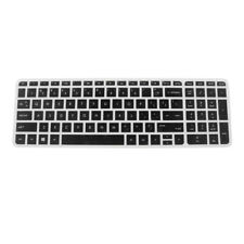 Gel Keyboard Skin Cover Protector for HP 15'' PC Clear Back