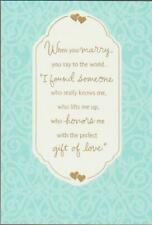 Wedding Greeting Card, Blessings On What You Have Found In Each Other