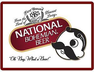 National Bohemian Beer 1885 NEW Refrigerator / Tool Box Magnet Man Cave