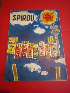 BD Journal Collection Spirou N° 1107 spécial vacances De 1959 BE/TBE