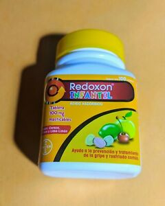 REDOXON INFANTIL 100mg (By Bayer) 100Tabs Helps prevent colds