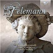Telemann: Cantatas & Chamber Music with R, Gemma Bertagnolli, soprano, Coll CD |